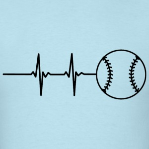 Baseball Pulse T-Shirts - Men's T-Shirt