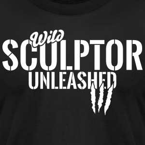 Wild sculptor unleashed T-Shirts - Men's T-Shirt by American Apparel