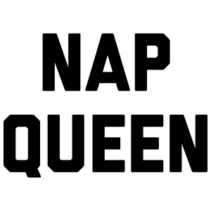 Nap Queen Funny Quote Accessories - iPhone 7 Plus Rubber Case