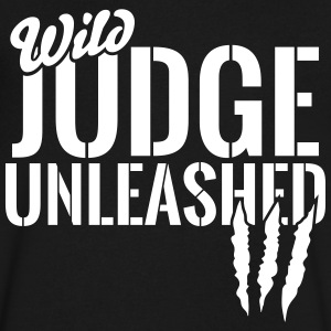 wild judge unleashed T-Shirts - Men's V-Neck T-Shirt by Canvas