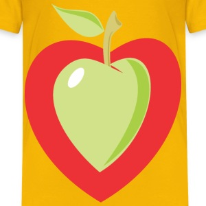 Heart Apple - Kids' Premium T-Shirt