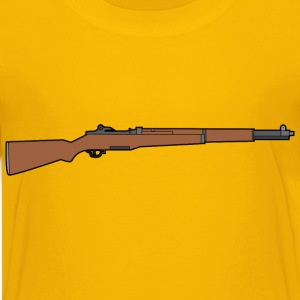 M1 Garand rifle - Kids' Premium T-Shirt