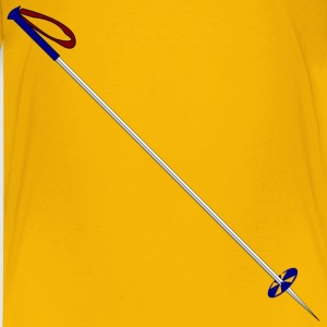 Ski Pole - Kids' Premium T-Shirt