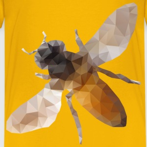 Low Poly Bee - Kids' Premium T-Shirt