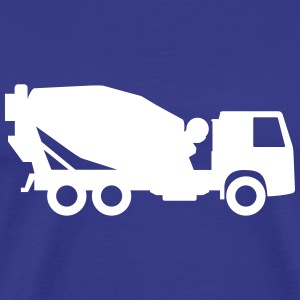 ready-mixed concrete truck T-Shirts - Men's Premium T-Shirt