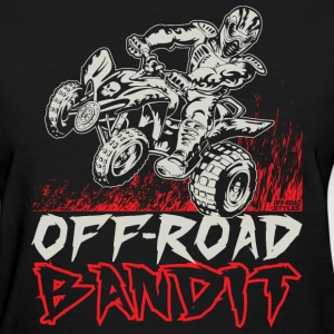 ATV Quad Off-Road Bandit T-Shirts - Women's T-Shirt
