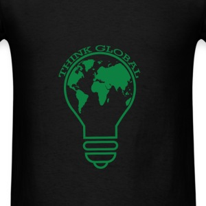 Cause - Think Global - Men's T-Shirt