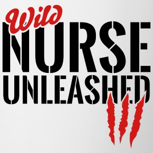 wild nurse unleashed Mugs & Drinkware - Contrast Coffee Mug