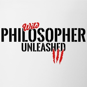 wild philosopher unleashed Mugs & Drinkware - Contrast Coffee Mug