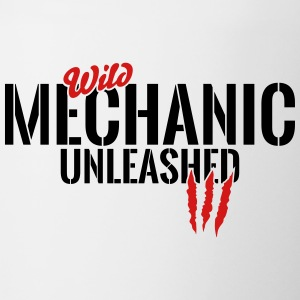 wild mechanic unleashed Mugs & Drinkware - Contrast Coffee Mug