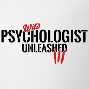 Wild psychologist unleashed Mugs & Drinkware - Contrast Coffee Mug