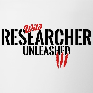 wild researcher unleashed Mugs & Drinkware - Contrast Coffee Mug