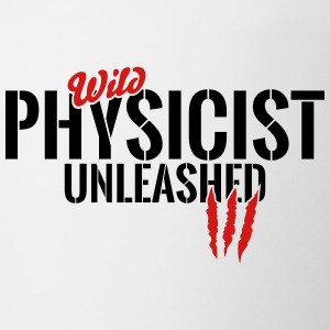 wild physicist unleashed Mugs & Drinkware - Contrast Coffee Mug