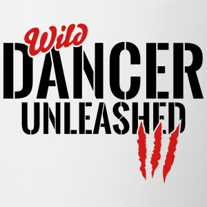 wild dancer unleashed Mugs & Drinkware - Contrast Coffee Mug