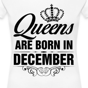 Queens Are Born In December Tshirt T-Shirts - Women's Premium T-Shirt