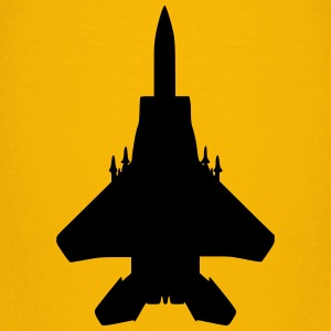 Fighter jet (top view) - Kids' Premium T-Shirt