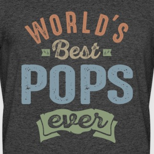 World's Best Pops  - Men's 50/50 T-Shirt