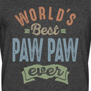 World's Best Paw Paw - Men's 50/50 T-Shirt