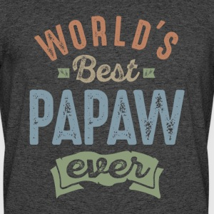 World's Best Papaw - Men's 50/50 T-Shirt