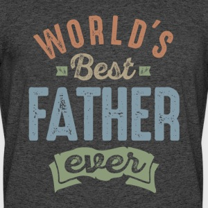 World's Best Father - Men's 50/50 T-Shirt