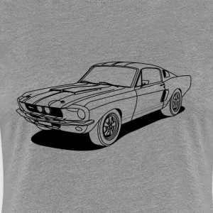 cool car outlines T-Shirts - Women's Premium T-Shirt