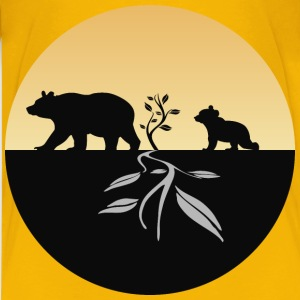 Bear And Cub Logo - Kids' Premium T-Shirt