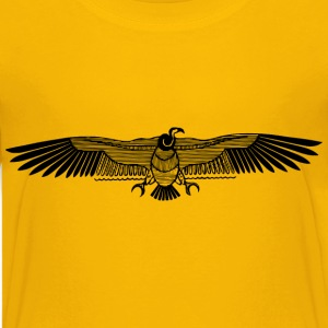 Stylised vulture - Kids' Premium T-Shirt