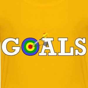 Reaching Goals - Kids' Premium T-Shirt