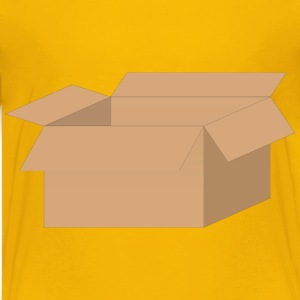 Open Cardboard Box - Kids' Premium T-Shirt