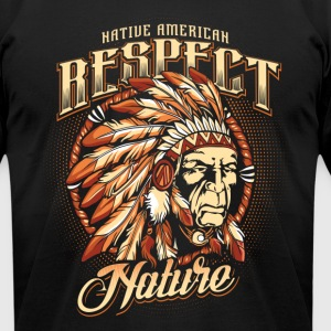 Respect nature T-Shirts - Men's T-Shirt by American Apparel