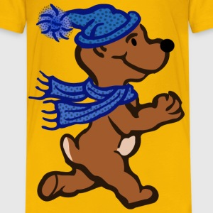 active bear coloured - Kids' Premium T-Shirt