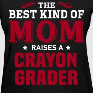Crayon Grader MOM - Women's T-Shirt