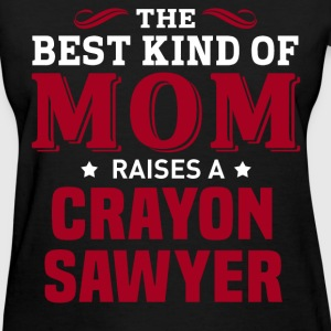 Crayon Sawyer MOM - Women's T-Shirt