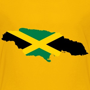 Jamaica Map Flag - Kids' Premium T-Shirt