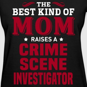 Crime Scene Investigator MOM - Women's T-Shirt
