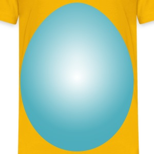 Blue Green Easter Egg - Kids' Premium T-Shirt