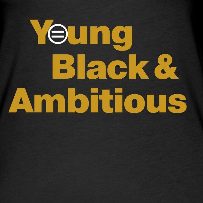 YBA Women's Tank - Black and Gold
