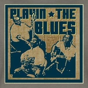 playing the blues - Women's Premium T-Shirt