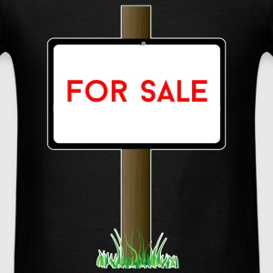 Real Estate Agent - For sale - Men's T-Shirt