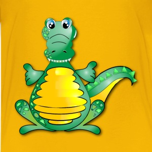 Huggable Crocodile - Kids' Premium T-Shirt