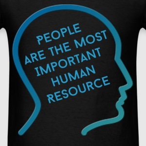 HR Manager - People are the most important human r - Men's T-Shirt