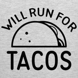 Will Run For Tacos - Men's Premium Tank