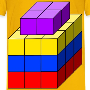 cube tower 02 - Kids' Premium T-Shirt