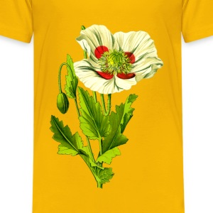 Opium poppy 3 (detailed) - Kids' Premium T-Shirt