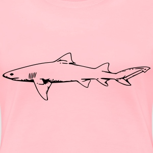 lemon shark - Women's Premium T-Shirt