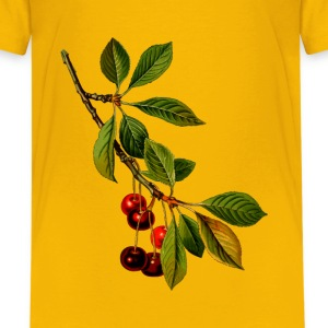 Sour cherry tree 2 (detailed) - Kids' Premium T-Shirt