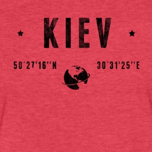 Kiev T-Shirts - Fitted Cotton/Poly T-Shirt by Next Level