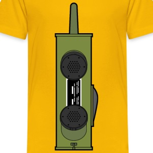 WW2 Handheld radio - Kids' Premium T-Shirt