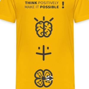 Think   Make It Possible - Kids' Premium T-Shirt