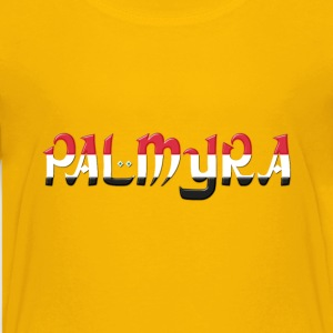 Palmyra Typography Enhanced 2 - Kids' Premium T-Shirt